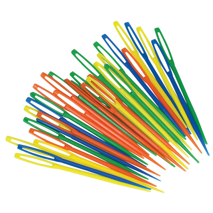 PLASTIC LACING NEEDLES 32PK