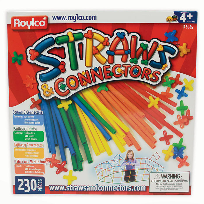 STRAWS & CONNECTORS 230 PIECES