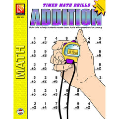 TIMED MATH FACTS ADDITION