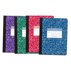 MARBLE COMPOSITION BOOK ASST COLORS