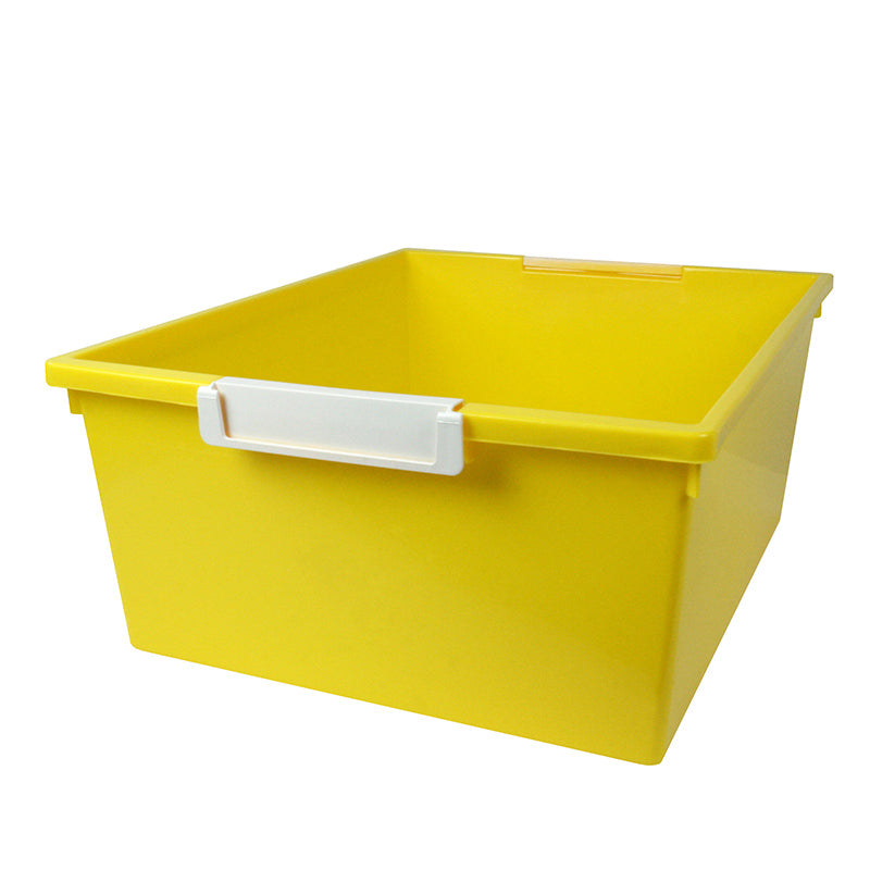 12QT YELLOW TRAY W LABEL HOLD