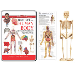 TIN SET DISCOVER THE HUMAN BODY