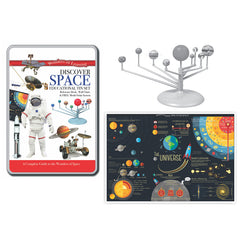(2 ST) TIN SET DISCOVER SPACE