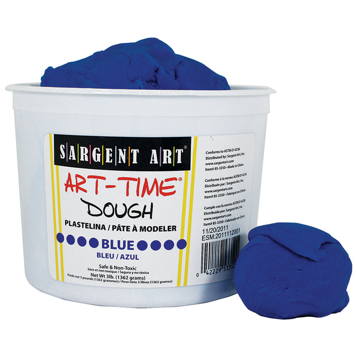 3LB ART TIME DOUGH - BLUE