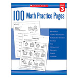 100 MATH PRACTICE PAGES GR 3