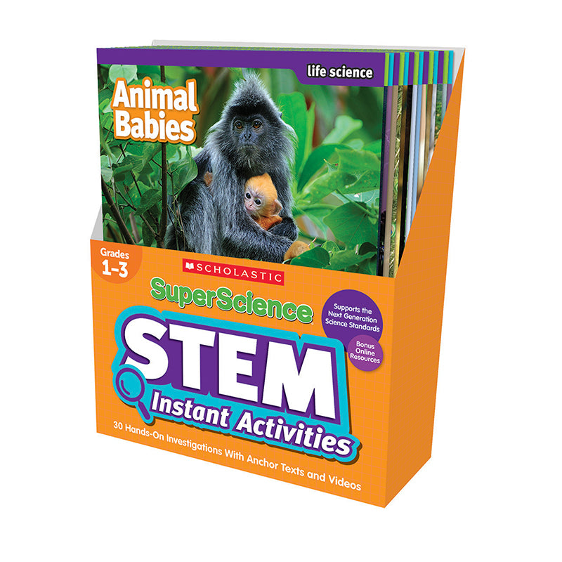 SUPERSCIENCE GR 1-3 STEM INSTANT