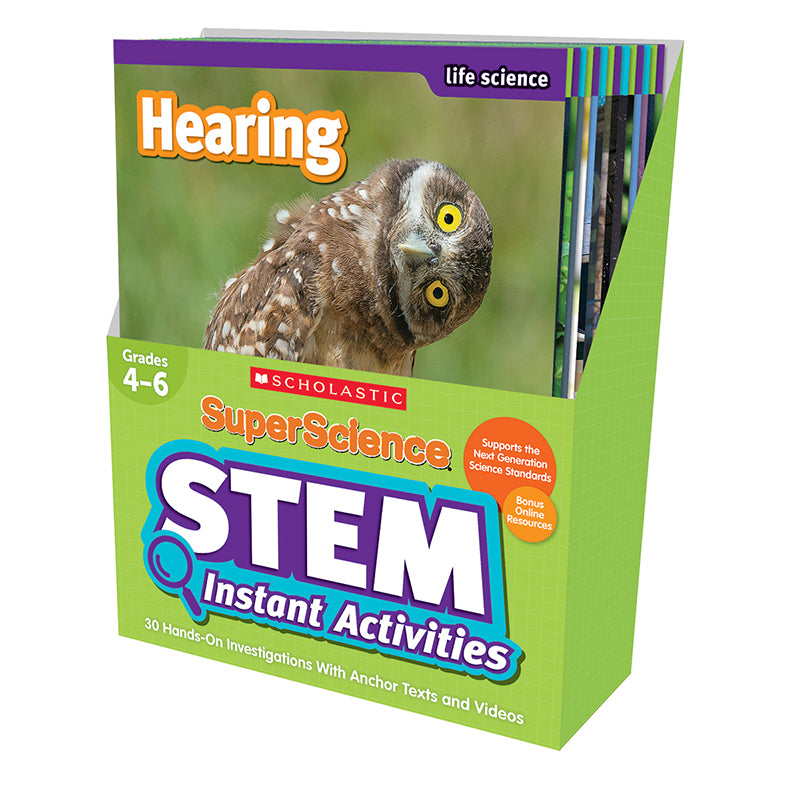 SUPERSCIENCE GR 4-6 STEM INSTANT