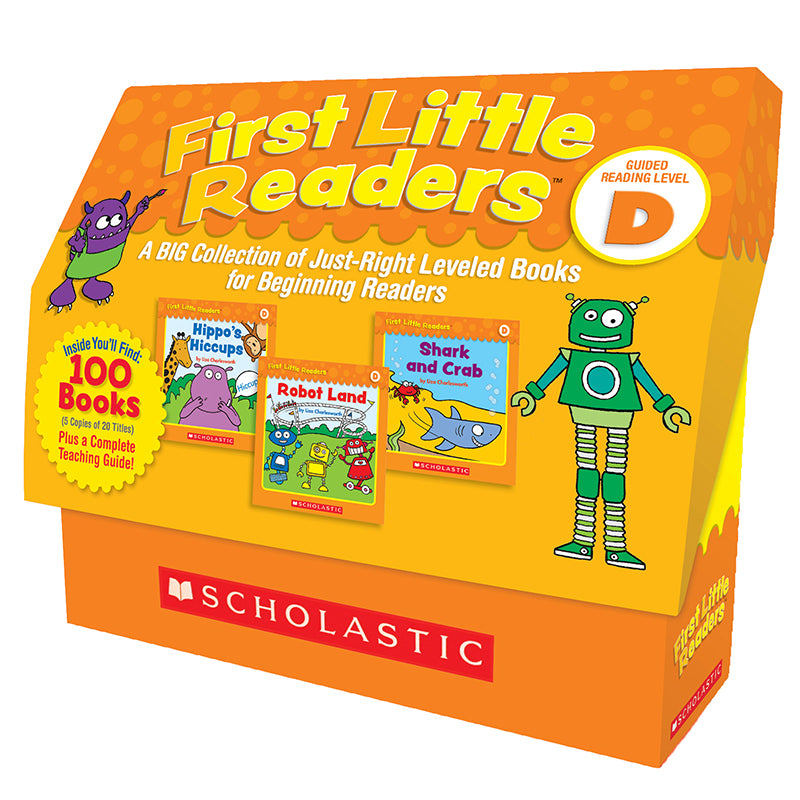 FIRST LITTLE READERS BOX ST LEVEL D