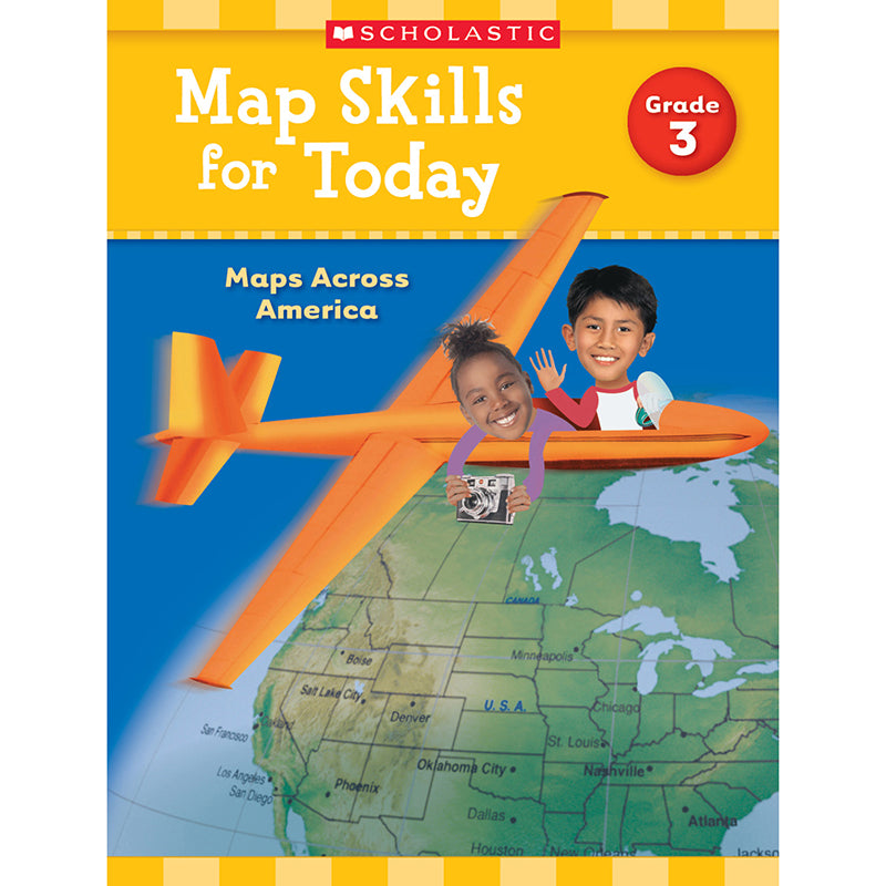MAP SKILLS FOR TODAY GR 3