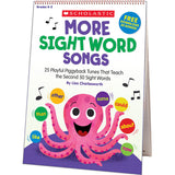 MORE SIGHT WORD SONGS FLIP CHART