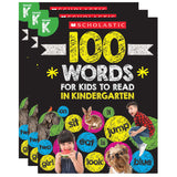 (3 EA) 100 WORDS FOR KIDS TO READ