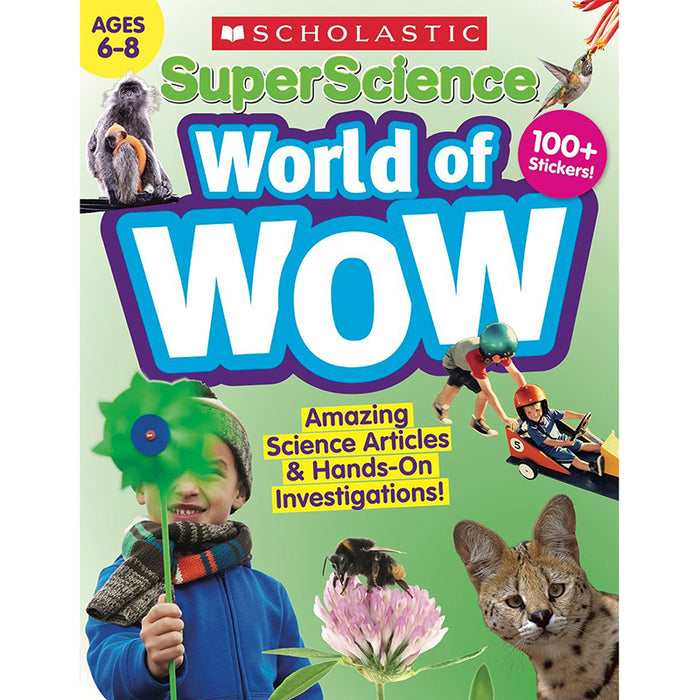 SUPER SCIENCE WORLD OF WOW 6-8