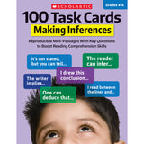 100 TASK CARDS MAKING INFERENCES