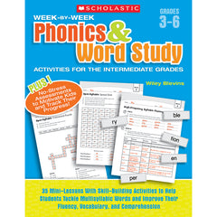 WEEK BY WEEK PHONICS & WORD STUDY