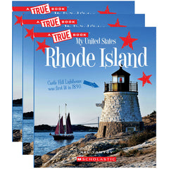 (3 EA) MY USA BOOK RHODE ISLAND