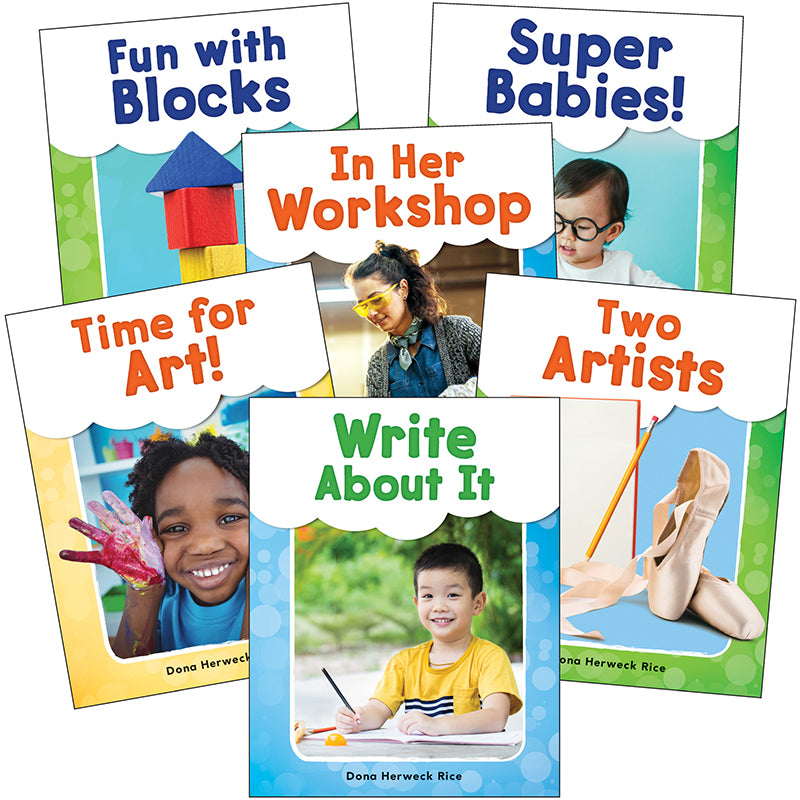 SEE ME READ BE CREATIVE 6 BOOK SET