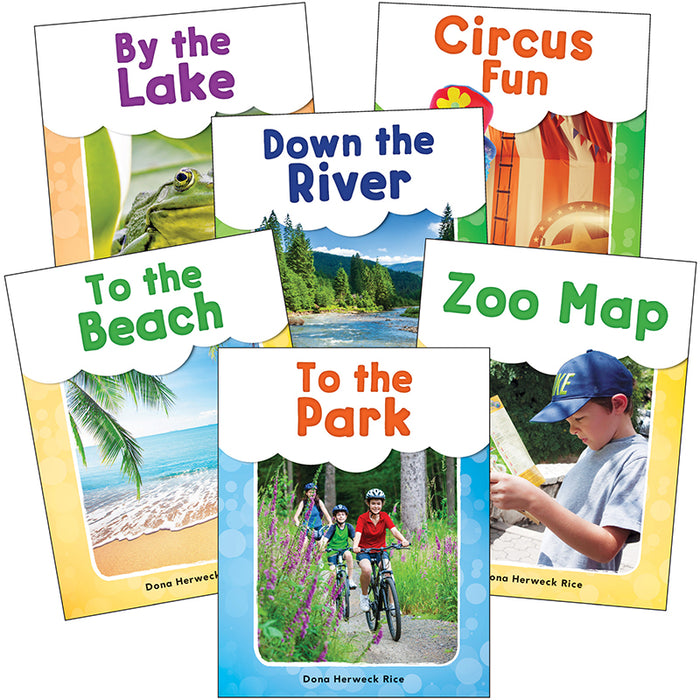 SEE ME READ FUN PLACES 6 BOOK SET