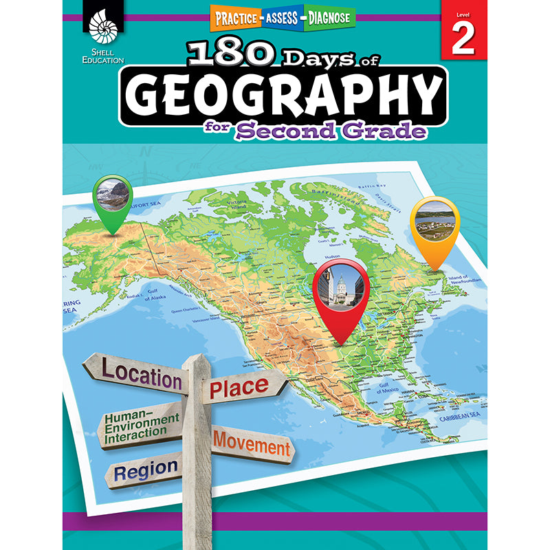 180 DAYS OF GEOGRAPHY GRADE 2
