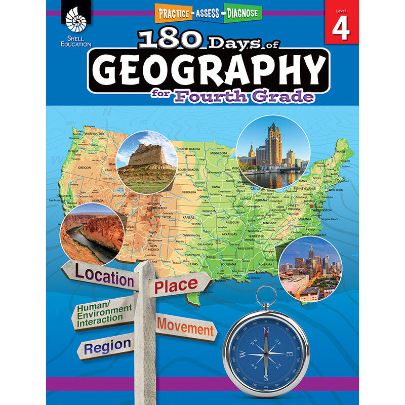 180 DAYS OF GEOGRAPHY GRADE 4
