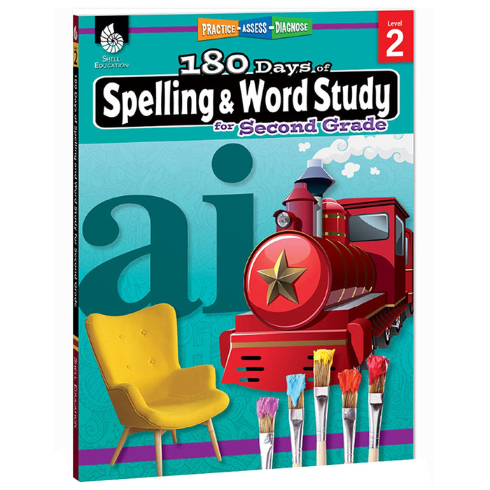 180 DAYS SPELLING & WORD STUDY GR 2
