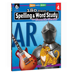 180 DAYS SPELLING & WORD STUDY GR 4