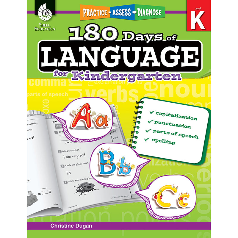 180 DAYS OF LANGUAGE GR K