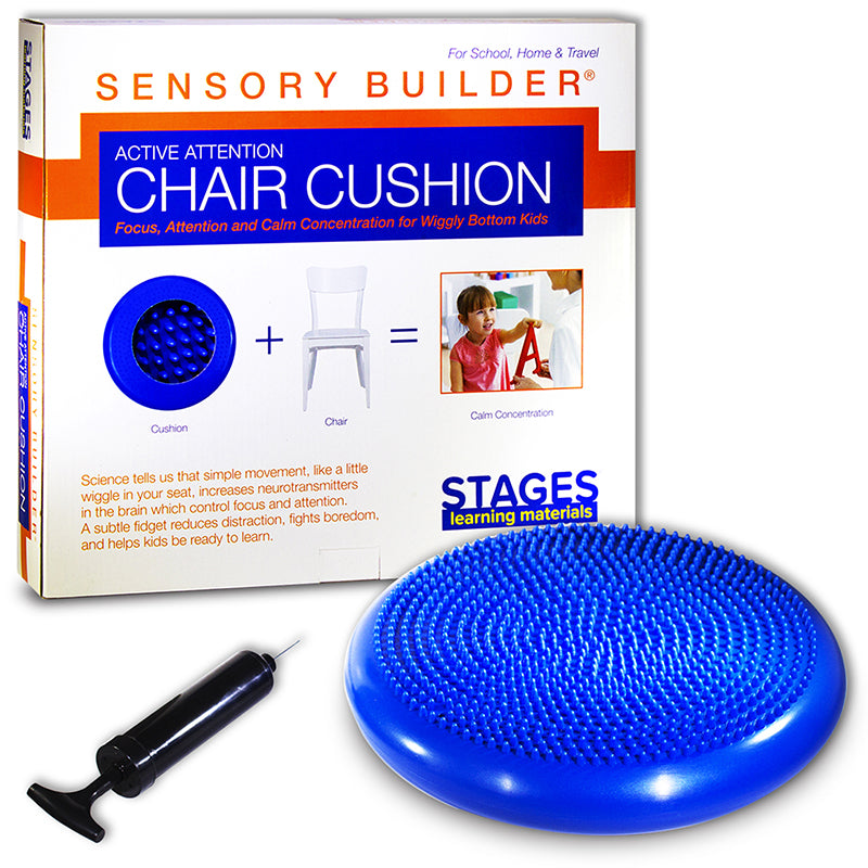 ACTIVE ATTENTION CHAIR CUSHION BLUE