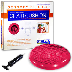 ACTIVE ATTENTION CHAIR CUSHION RED