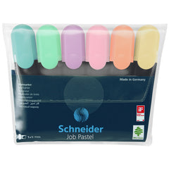 PASTEL JOB HIGHLIGHTER SET 6PK