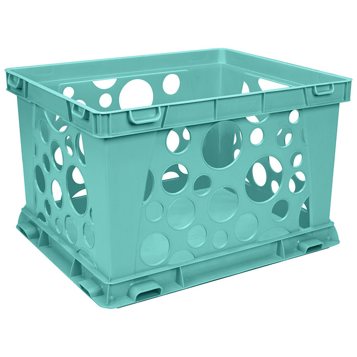 MINI CRATE SCHOOL TEAL