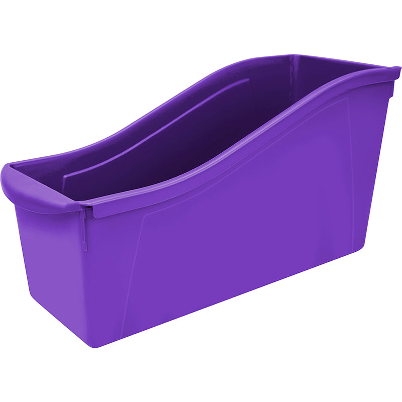 LARGE BOOK BIN PURPLE