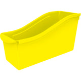 (6 EA) LARGE BOOK BIN YELLOW