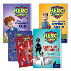 HERO ACADEMY LVLD READERS GR 3 610L