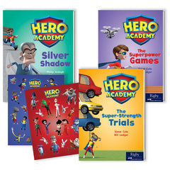 HERO ACADEMY LVLD READERS GR 3 620L