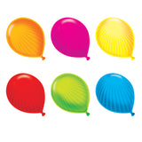 (6 PK) PARTY BALLOONS CLASSIC