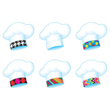 (6 PK) CHEFS HATS BAKE SHOP CLASSIC