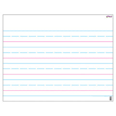 WIPE-OFF CHART HANDWRITING PAPER