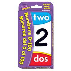 (12 PK) NUMBERS 0-100 BILINGUAL