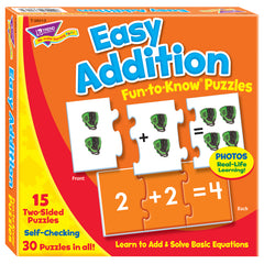 (3 EA) EASY ADDITION PUZ FUN-TO