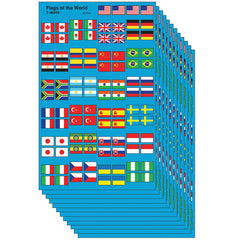 (12 PK) FLAGS OF THE WORLD SPERSHPE