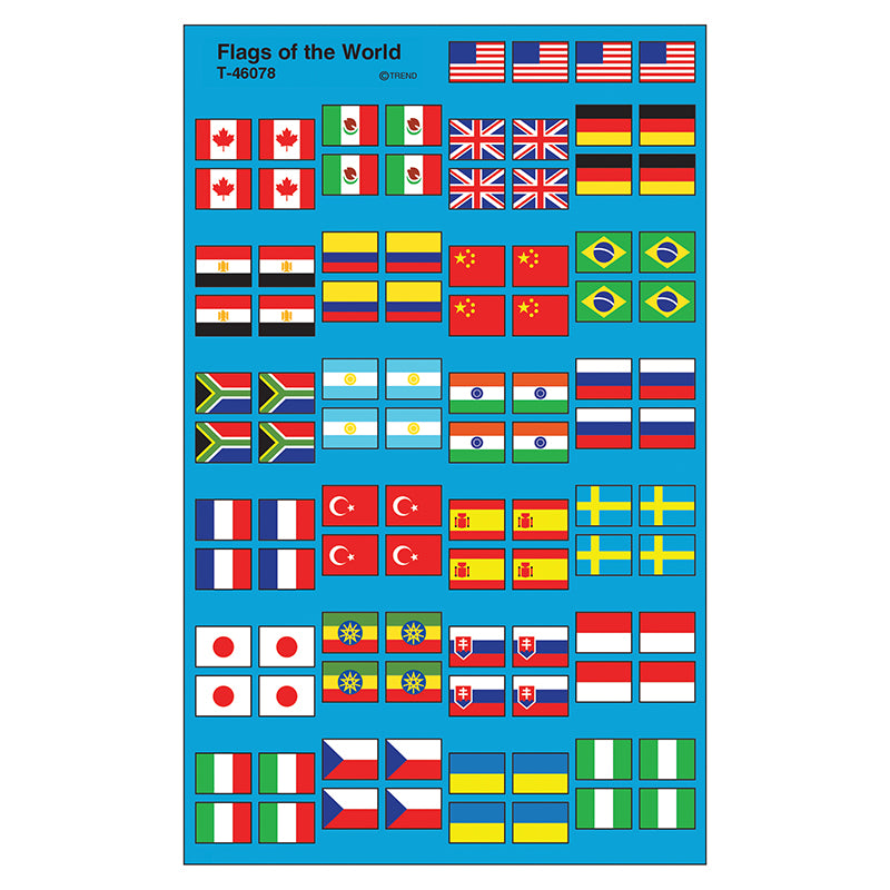 FLAGS OF THE WORLD SUPERSHAPE