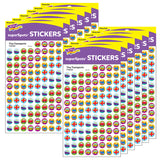 (12 PK) SUPERSPOTS STICKERS TINY