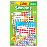(3 PK) STICKERS SEASONS COLOSSAL