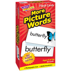 FLASH CARDS MORE PICTURE 96/BOX