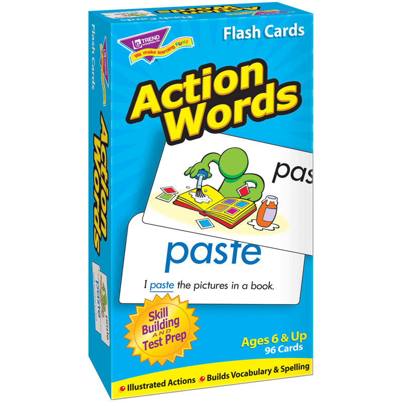 (2 EA) FLASH CARDS ACTION WORDS