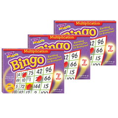 (3 EA) BINGO MULTIPLICATION AGES 8