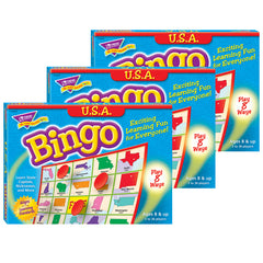 (3 EA) BINGO USA AGES 8 & UP