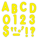 (3 PK) READY LETTERS 7IN YELLOW