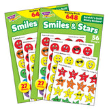 (2 PK) STINKY STICKERS SMILES STARS