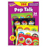 (2 PK) PEP TALK STINKY STICKERS